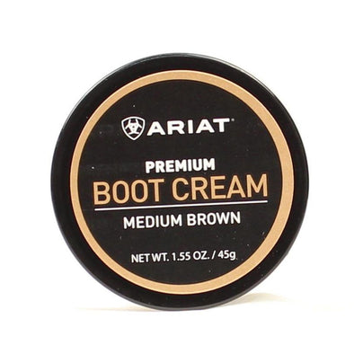 Ariat Boot Cream Medium Brown 1.55oz