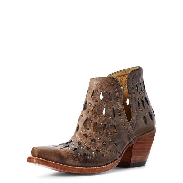 Ariat Women's Dixon Studded Boots - Ash Brown