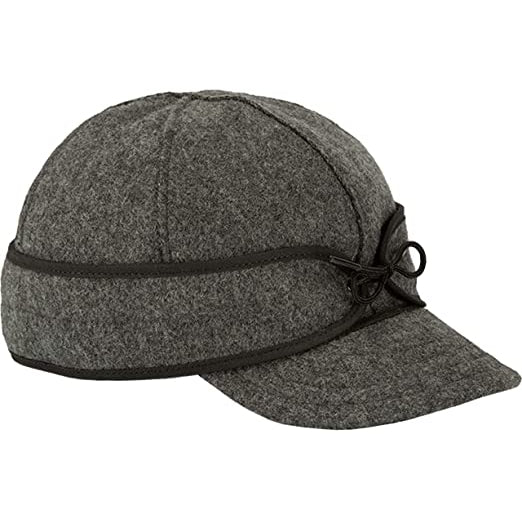 The Original Stormy Kromer Cap Size 6 3/4 Charcoal