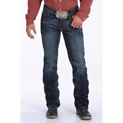 "Cinch Men's ""Ian"" Jeans - Dark Stonewash"