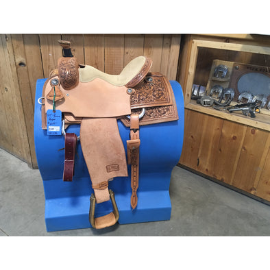 "Irvine 14 1/2"" Rope Saddle"