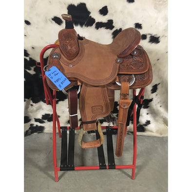 "Irvine 13"" Jr Rope Saddle"