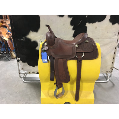 "Billy Cook 16""  Custom Cutting Saddle"