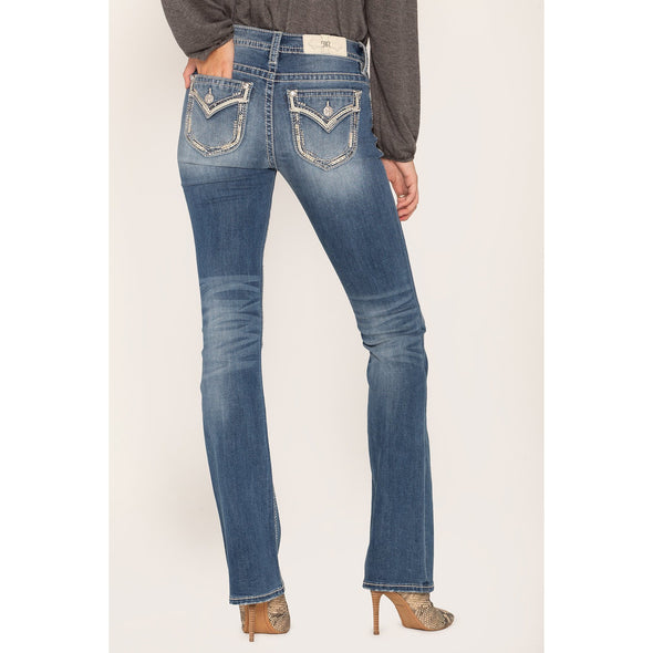 Miss Me Borderline Bootcut Jeans