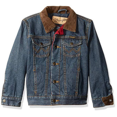 Wrangler Boy's Western Blanket Lined Jacket