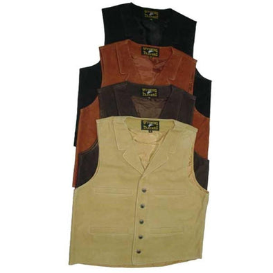 Wyoming Traders Buffalo Leather Vest