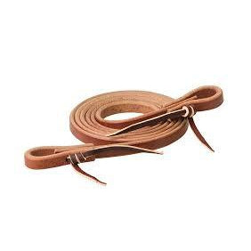 "Weaver Leather Canyon Rose Heavy Harness Roper Rein, 5/8"" x 7'"