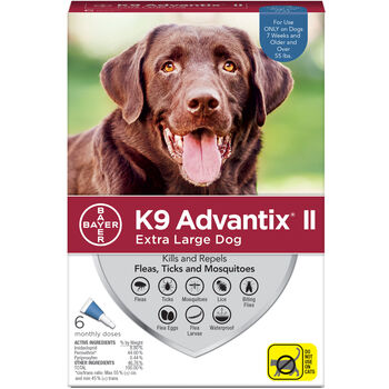 K9 Advantix II X Dog 6 Doses