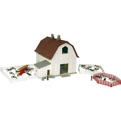 1:64 Dairy Barn Play Set