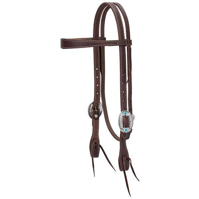 Weaver Leather Working Tack Feather Slim Browband Headstall