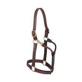 "Weaver Thoroughbred Halter with Snap, 1"" Horse"