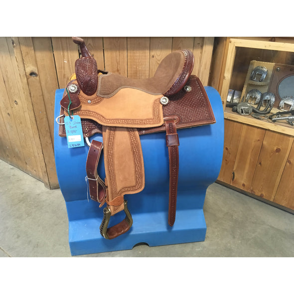 "Irvine 15 1/2"" Barrel Saddle"