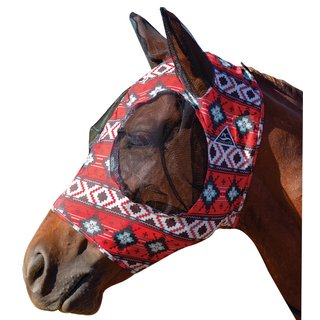 Professional's Choice Comfortfly Lycra Mask  - Horse