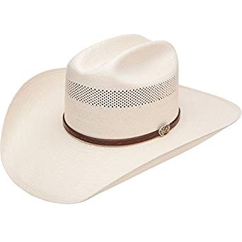 Resistol Western Straw Hat - Cross Tie, Natural