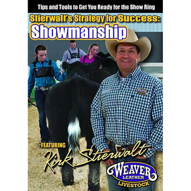 Weaver Leather Stierwalt's Strategy for Success:  Showmanship DVD