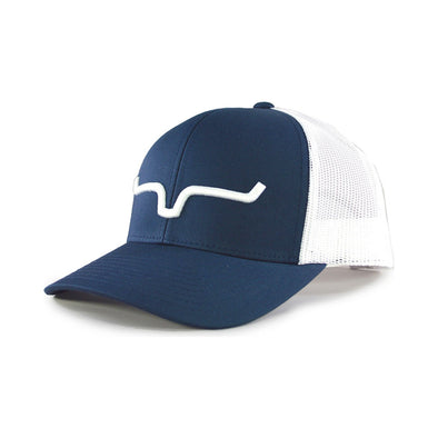 Kimes Weekly Trucker Cap  Blue/White  OSFA