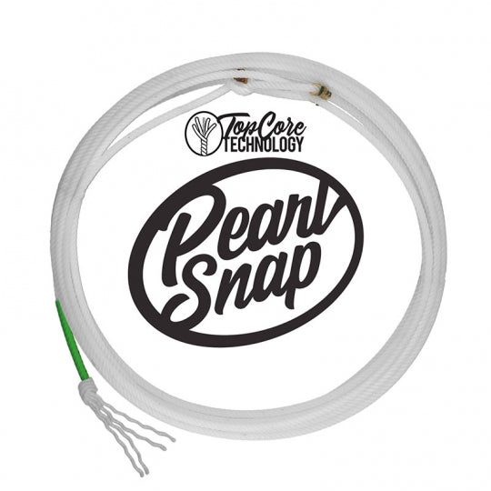 Top Hand Pearl Snap Team Rope