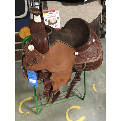 "Irvine 13"" JR Buster Welsh Roping Saddle"