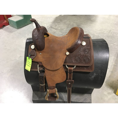 "Irvine  13""  Cutting Saddle"