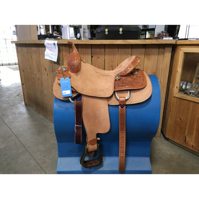 "Rico 17"" Cutting Saddle"