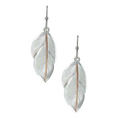 Montana Silversmiths Downy Feather Earrings