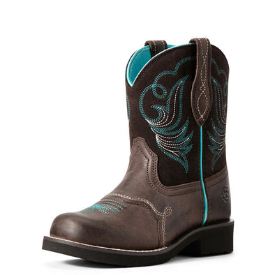 Ariat Youth Fatbaby Heritage Dapper Western Boot