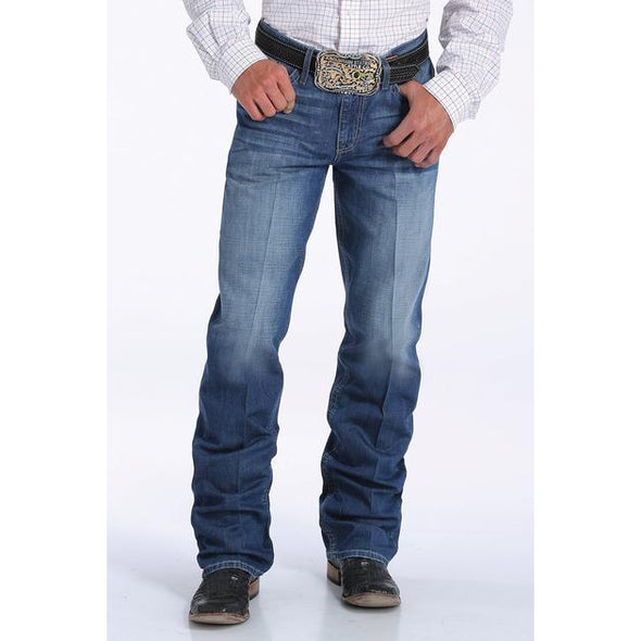 "Cinch Men's ""Grant"" Jeans - Medium Stonewash"