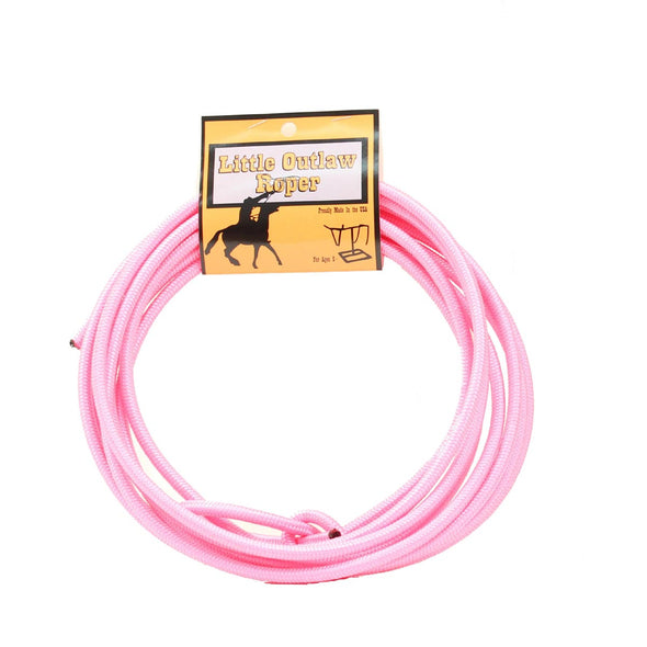 Little Outlaw Youth Rope Pink
