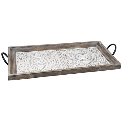 Decorative Embossed Ceiling Tile Tray