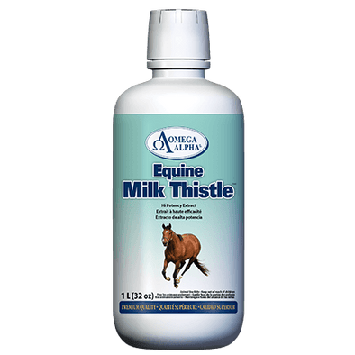 Omega Alpha Equine Milk Thistle High potency Extract