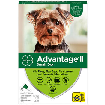 Advantage II S Dog 6 Dose
