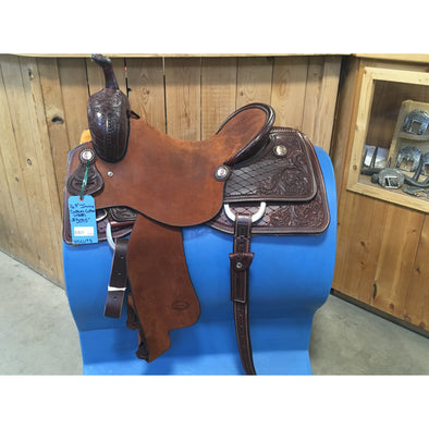 "Irvine  16 1/2"" Custom Cutting Saddle (4308)"