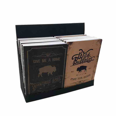 Books Lined Buffalo