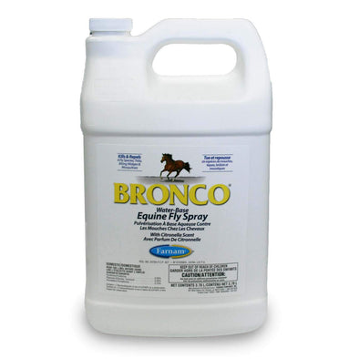 Farnam Bronco Water Base Equine Fly Spray 3.78L