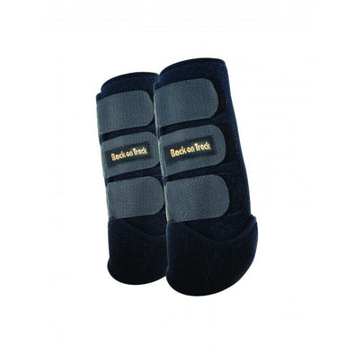 Back on Track, Exercise Boots for Hind Leg - Black, pair M