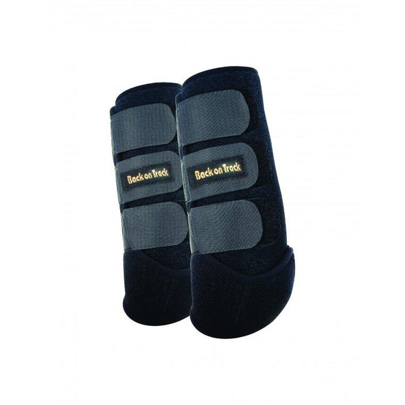 Back on Track, Exercise Boots for hind leg Black, pair S