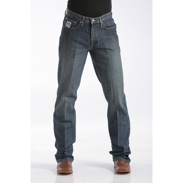 Cinch Men's Relaxed Fit White Label Jean - Dark Stonewash
