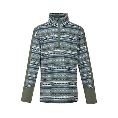 Kerrits Kids Fair Isle Fleece Tech Top