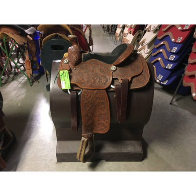 "Billy Cook 14 1/2"" Rope Saddle"