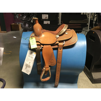 "Billy Cook 12"" Rope Saddle"