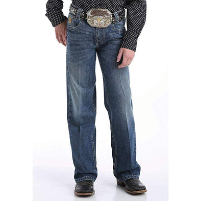 "Cinch Boy's ""Carter"" Jeans - Medium Stonewash"