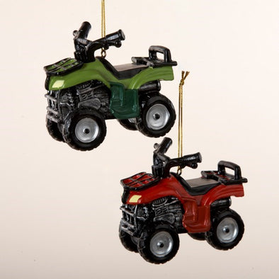 "3.5"" ATV Vehicle Ornament"