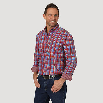 Wrangler Men's George Strait Shirt