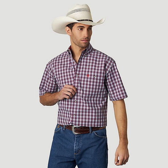Wrangler Men's George Strait SS Shirt