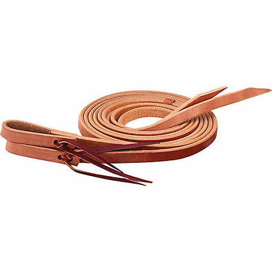 "Weaver Single-Ply Heavy Harness Split Rein, 1"" x 8'"
