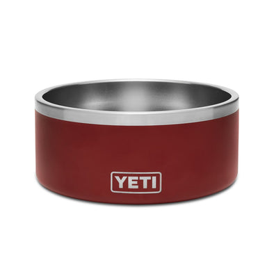 International Boomer 8 Dog Bowl Brick Red