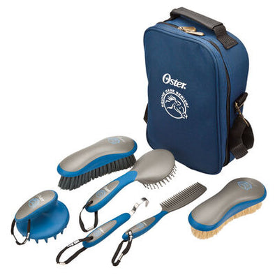 Equine Groom Kit Blue 7 pc