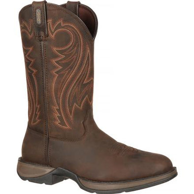 "Rocky Brand Men's 12"" Brown Western Chocolate Wyoming"