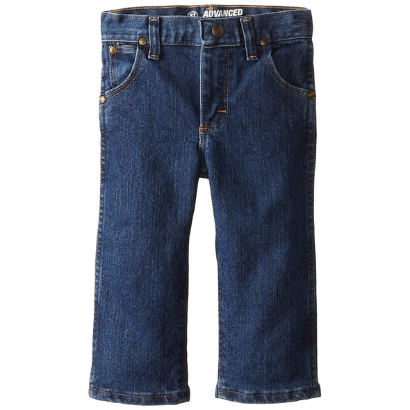 Wrangler Advanced Comfort Junior Boy's Jeans - Adjustable Waistband Medium Wash