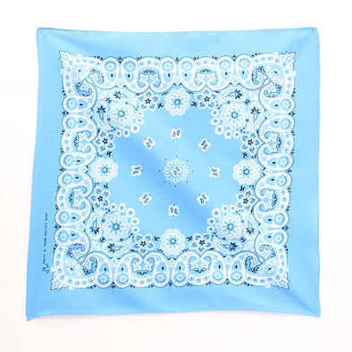 Bandanas Traditional 21x21 Light Blue